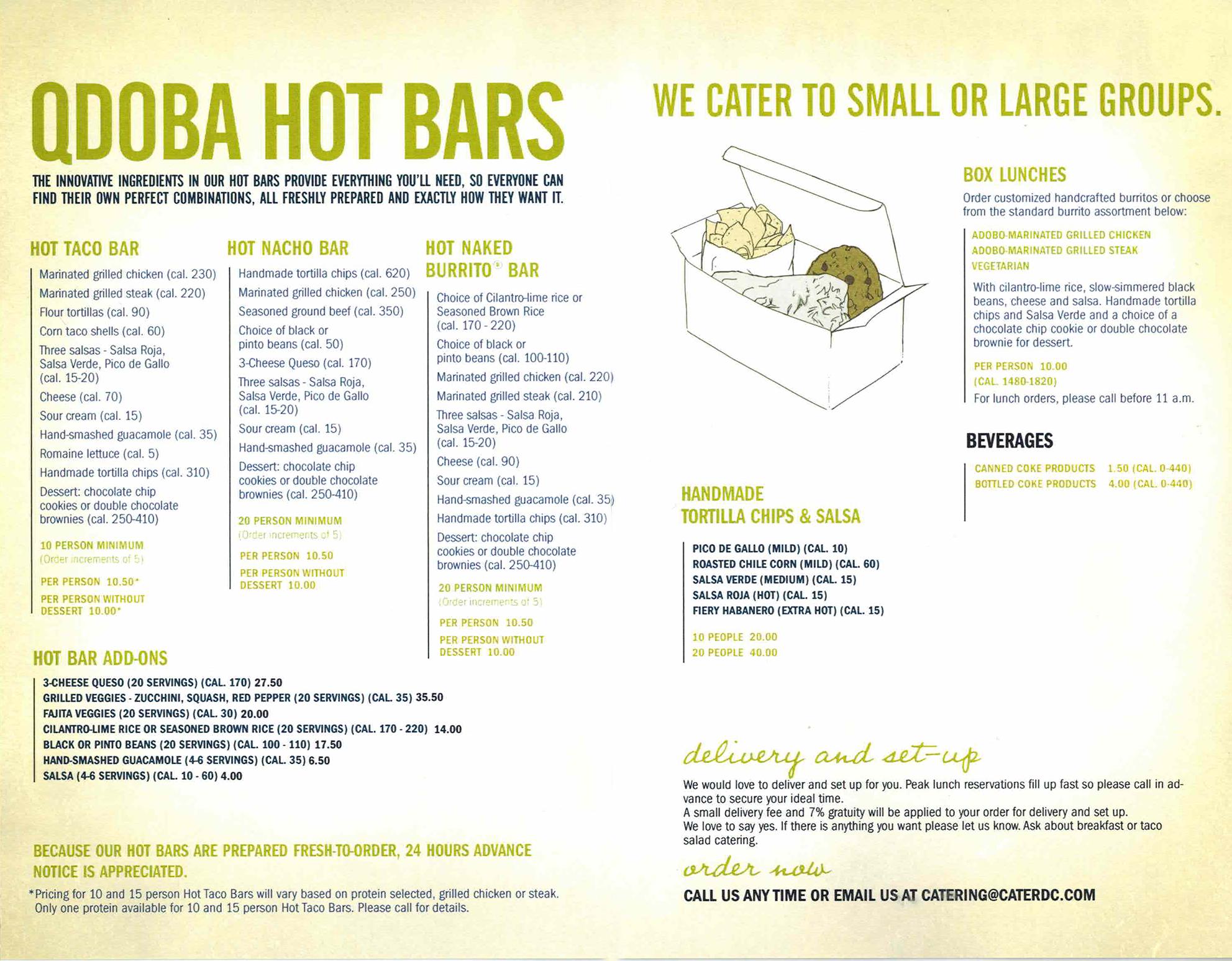 Qdoba Nutrition Facts. Calories, carbs, fat, sodium ...